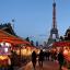 Le marché de Noël européen au Trocadéro (Paris)