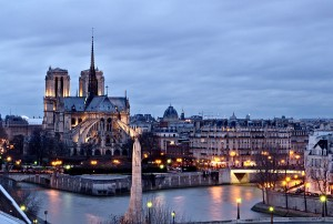 Notre Dame View From Institut du Monde Arabe