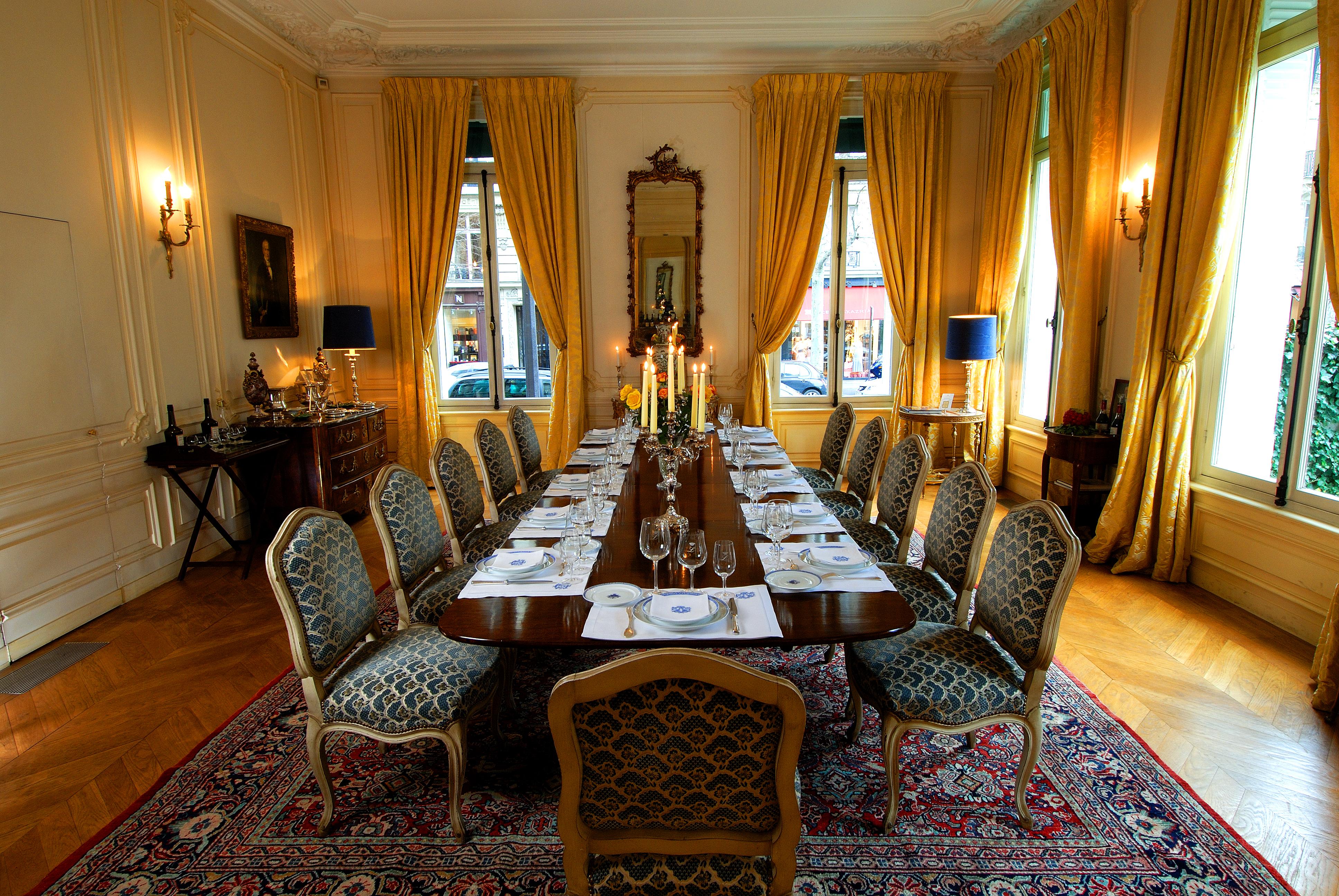 Salons de la maison Ladoucette Paris