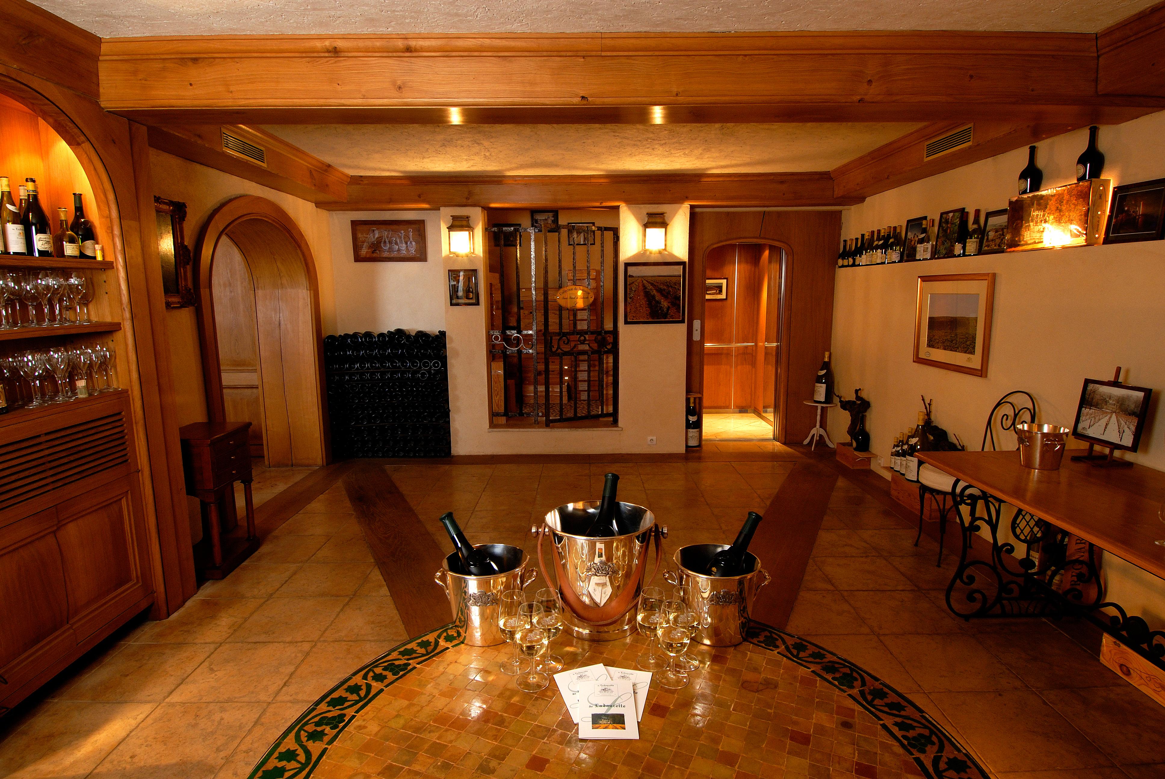 Wine Cellars of Ladoucette Paris (1)