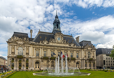 Town hall of Tours - France, Region Centre
