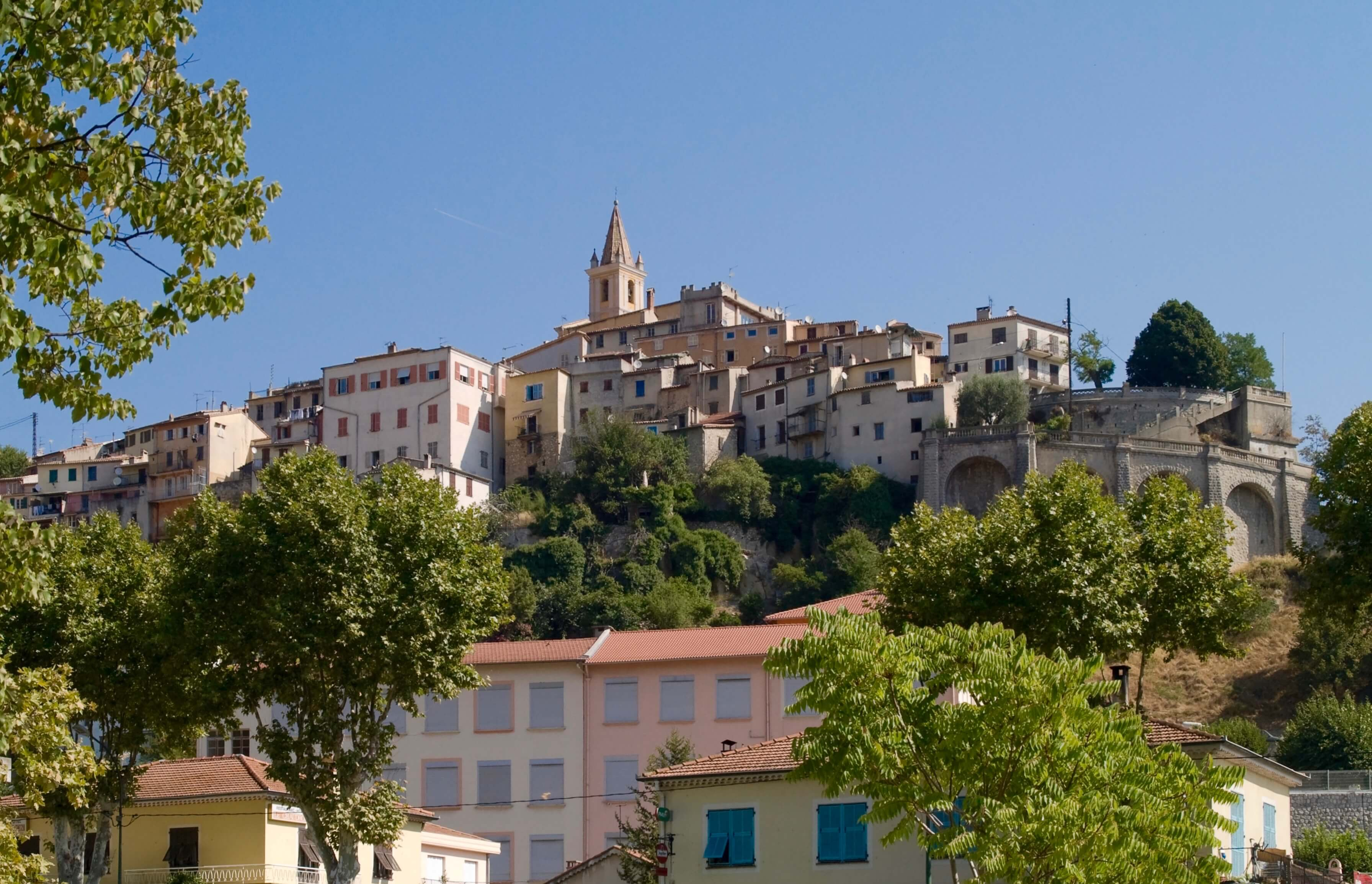 Village of Contes Alpes Maritimes France